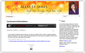 Life Shift with Aleta St James Case Study